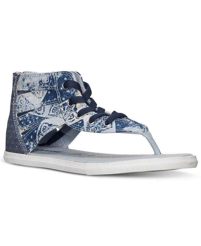 Converse - Women's Chuck Taylor Gladiator Thong Sandals from Finish Line
