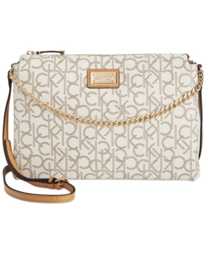 Upc 888738463256 Product Image For Calvin Klein Hudson Monogram Crossbody Upcitemdb