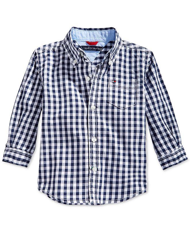 Tommy Hilfiger Baby Boys Baxter Plaid Shirt