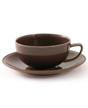 """Calvin Klein Home """"Tonal Edge"""" Cup & Saucer"""
