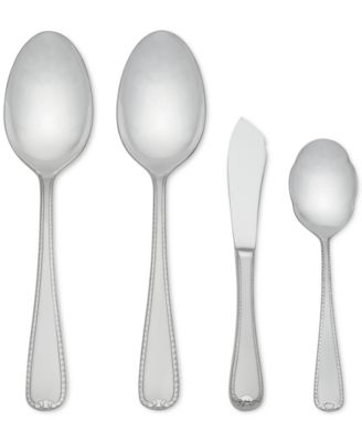 Gorham Ribbon Edge Frost 4-Piece Serving Set