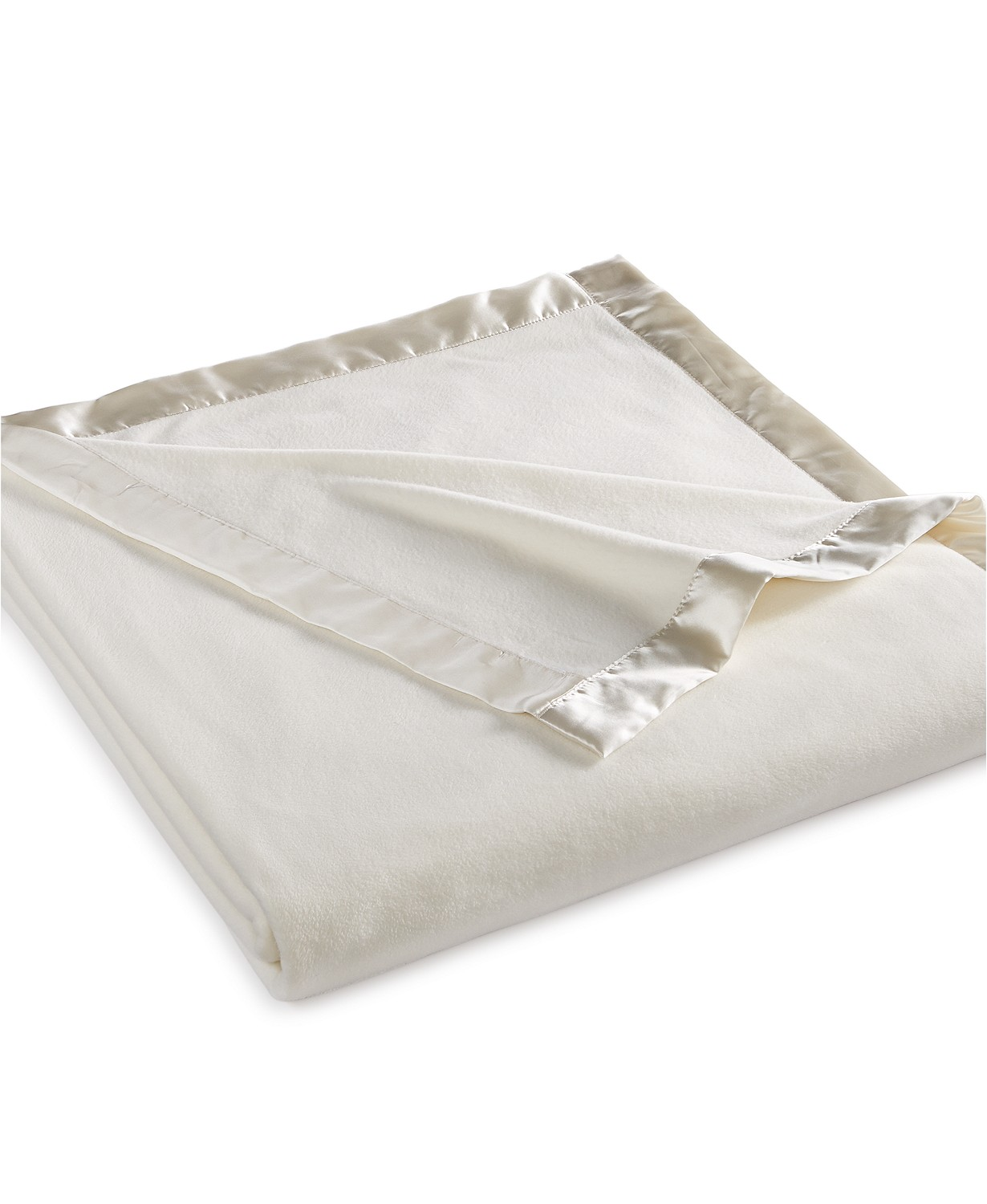 Martha Stewart Collection Soft Fleece Queen Blanket