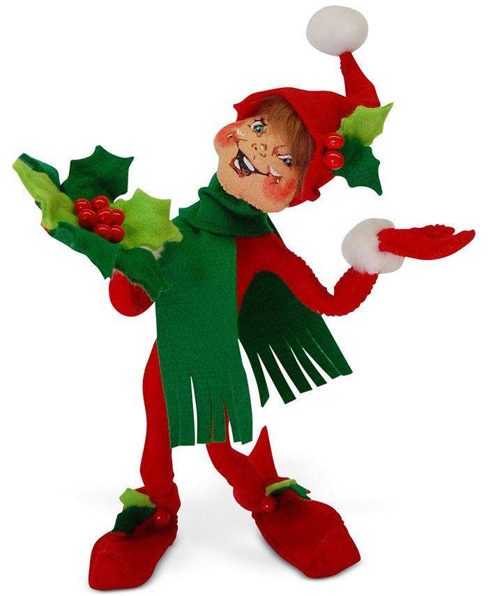 "Annalee - 12"" Holly Berry Elf"
