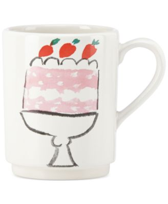 kate spade new york all in good taste Cake Mug