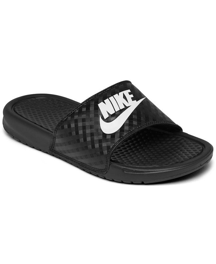 Nike - Women's Benassi JDI Swoosh Slide Sandals from Finish Line