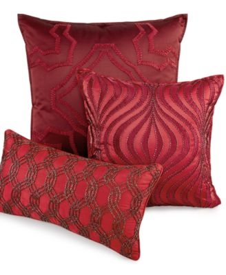"Hotel Collection Medallion 20"" Square Decorative Pillow"