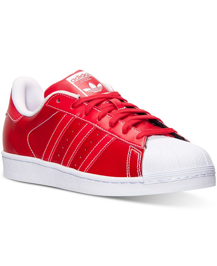 adidas - Men's Originals KZK Superstar Leather Casual Sneakers from Finish Line