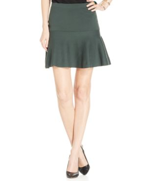 CeCe by Cynthia Steffe Cotton Flounce Skirt