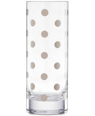 kate spade new york Pearl Place Platinum Vase