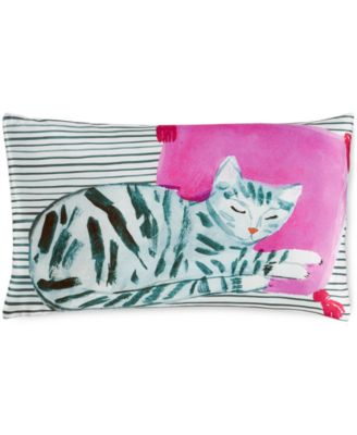 "kate spade new york Cat Nap 12"" x 20"" Decorative Pillow"