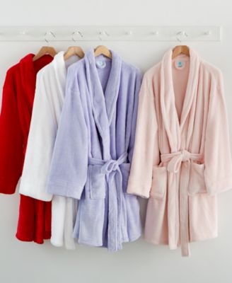 CLOSEOUT! Martha Stewart Collection Plush Robe, Only at Macy's