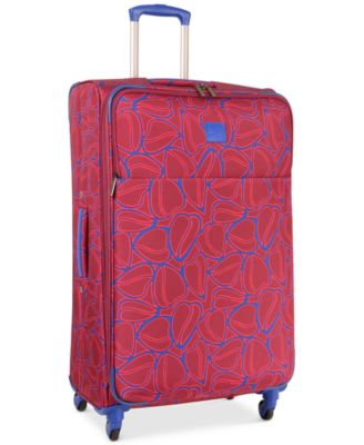 "CLOSEOUT! 70% Off Diane von Furstenberg Amor 28"" Spinner Suitcase, Only at Macy's"