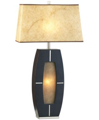 Nova Lighting Delacy Wood Table Lamp