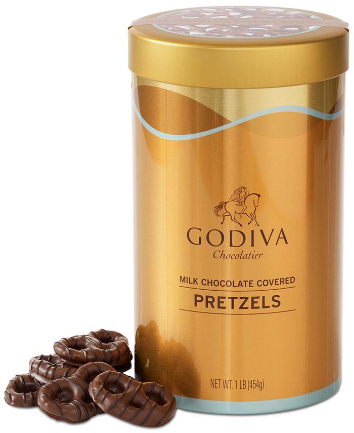 Godiva - Milk Chocolate Pretzel Tin