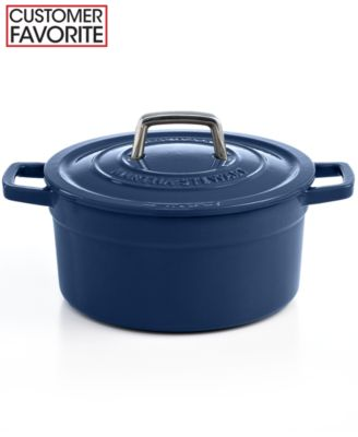 Martha Stewart Collection Collector's Enameled Cast Iron 3 Qt. Round Casserole