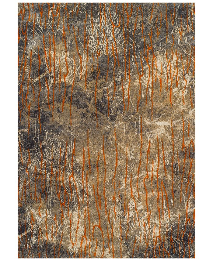 """Dalyn - Modern Abstracts Ethos Multi 5'3"""" x 7'7"""" Area Rug"""