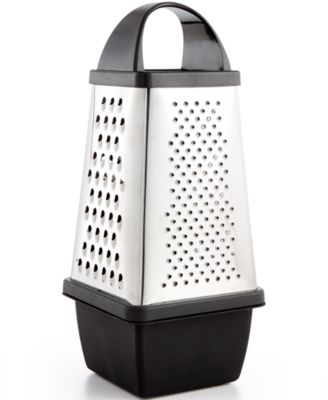 Martha Stewart Collection 4 Sided Grater with storage, Only at Macy's
