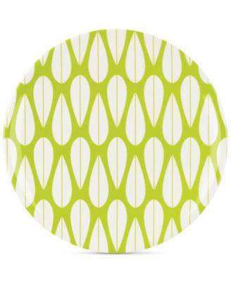 Dansk The Burbs Collection Melamine Grass Green Dinner Plate