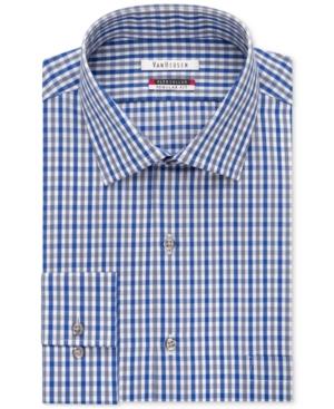 Van heusen flex collar gingham dress shirt dealtrend for Van heusen shirts flex collar