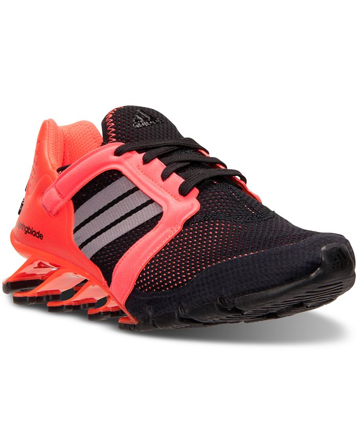adidas Big Boys' Springblade Ignite Running Sneakers from Finish ...
