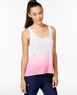 Ideology Pink Ribbon Open-Back Tank Top, Only at Macy's