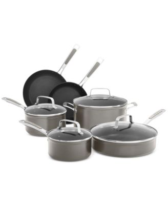 KitchenAid KC2H1S10 10 Piece Nonstick Cookware Set