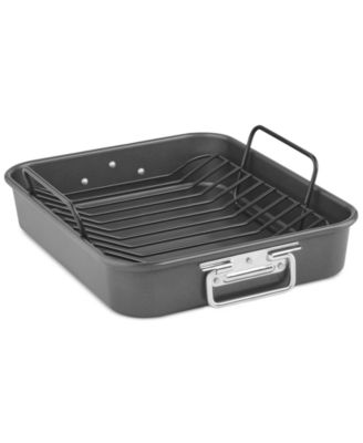 "KitchenAid KBNSO16RP 16"" Aluminized Steel Roaster with Rack"