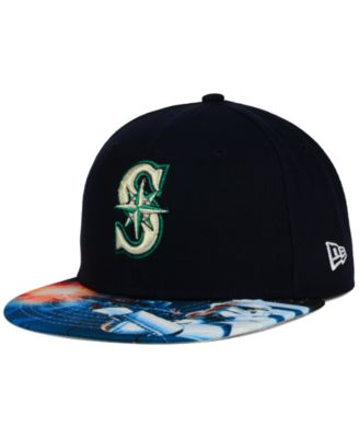 New Era Seattle Mariners MLB x Star Wars Viza Print 59FIFTY Cap