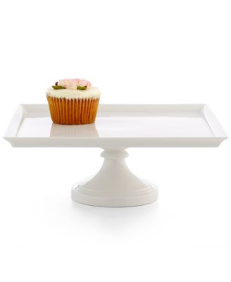 "Martha Stewart Collection Large 12"" Square Cake Stand"