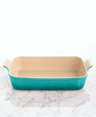 "Le Creuset Heritage Stoneware 12"" x 9"" Rectangular Baking Dish"