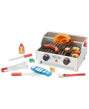 Melissa And Doug Kids 39 Bbq Grill Play Set Dealtrend
