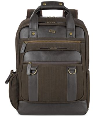 "Solo Bradford 17"" Laptop Backpack"