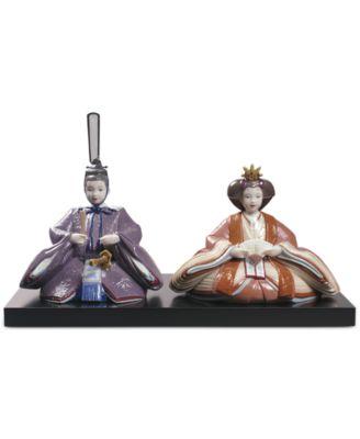 Lladr® Porcelain Hina Dolls Figurine