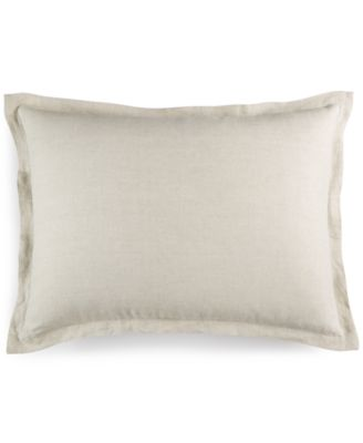 Hotel Collection Linen Natural Standard Sham