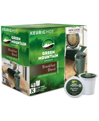 Keurig 15170 Green Mountain Coffee Breakfast Blend 48-Ct. Value Pack