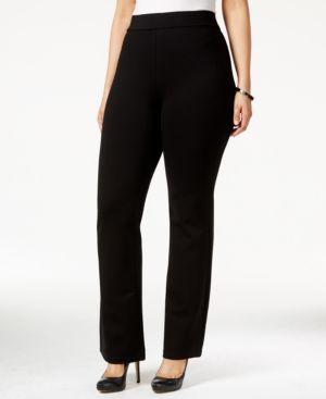 Nydj Plus Size Belinda Pull-On Bootcut Pants