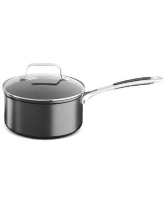 KitchenAid KC2H130PLKD 3-Qt. Hard Anodized Nonstick Saucepan with Lid