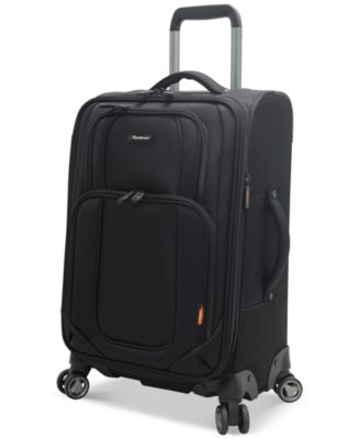 "CLOSEOUT! Pathfinder Presidential 21"" Expandable Carry On Spinner Suitcase, Only at Macy's"