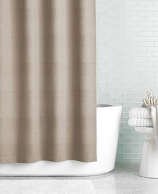 "Hotel Collection Waffle 72"" x 72"" Shower Curtain"