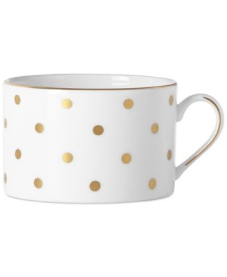 kate spade new york Larabee Road Gold Bone China Cup