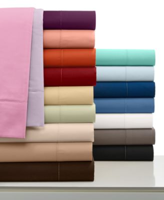 Charter Club Damask Solid 500 Thread Count Pima Cotton Queen Sheet Set, Only at Macy's