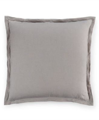 Hotel Collection Linen Fog European Sham, Only at Macy's
