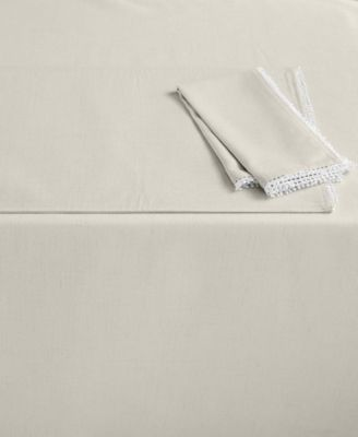 "Lenox French Perle 60"" x 102"" Natural Tablecloth"