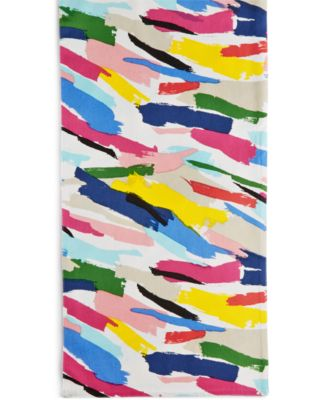 "kate spade new york Brush Strokes Table Linens Collection 72"" Table Runner"