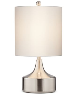 Pacific Coast Low Brushed Steel Table Lamp, Only at Macy's