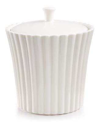 Martha Stewart Collection Ceramic Scallop Jar, Only at Macy's