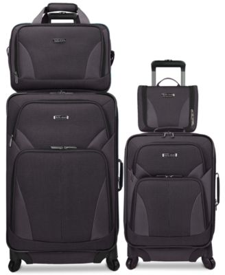 Travel Select Allentown 4 Piece Spinner Luggage Set, Only at Macy's