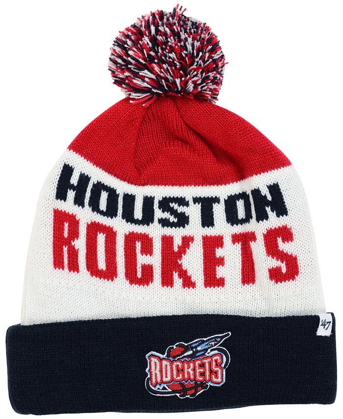 '47 Brand - Houston Rockets Crossblock Knit Hat