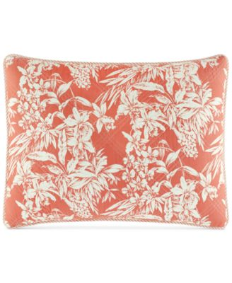 Tommy Bahama Home Orchid Retreat Quilted Standard Sham