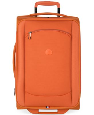 "CLOSEOUT! Delsey Hyperlite 2.0 20"" Expandable Carry-on Rolling Suitcase in Orange, Only at Macy's"